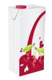 Cherryfruktsaft Fotografering för Bildbyråer