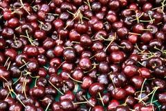 Cherrymarknad Royaltyfri Fotografi