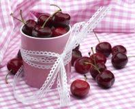 Cherrypink Arkivbild