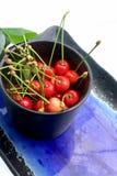 Cherryplattakruka Royaltyfri Bild