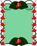 Cherryram vektor illustrationer