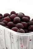 cherrys, котор замерли быстро Стоковое фото RF