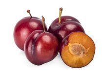 Cherry isolated on white background stock photos