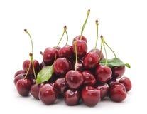Cherrysamlingsfrukt låter vara grönsaken Royaltyfri Fotografi
