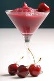 Cherryslush royaltyfri fotografi