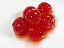 Cherrystapel Royaltyfri Fotografi