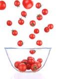 Cherrytomater arkivfoto