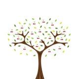 Cherrytree Royaltyfri Illustrationer