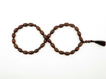 Cherrywood Rosary in Form of Endlessness Stock Image