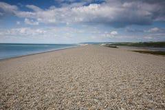 Chersil-Strand, Dorset Stockbild