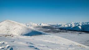 The Chersky Range (nearly Yagodnoe) Stock Photo