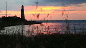 Chersonese lighthouse,  Sevastopol, Crimea stock footage