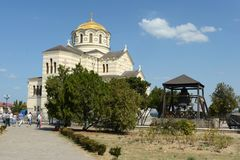 Chersonese, St. Vladimir's Cathedral. Stock Photography