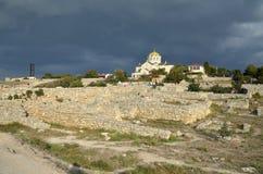 Chersonesus大教堂 免版税图库摄影
