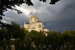 Chersonesus大教堂 免版税库存照片