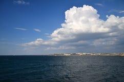 Chersonesus,黑海 免版税库存图片