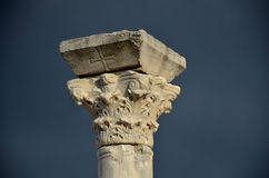 Chersonesus, capital corinthien Image stock