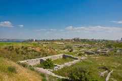 Chersonesus near Sevastopol in Crimea, Ukraine Royalty Free Stock Photo