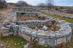 Chersonesus ruins in Crimea Royalty Free Stock Images