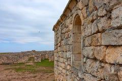 Chersonesus ruins in Crimea Stock Image