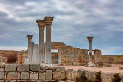 Chersonesus ruins in Crimea Royalty Free Stock Photo