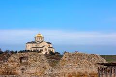 Chersonesus ruins in Crimea Stock Photography