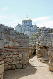Chersonesus and the Vladimirskiy cathedral royalty free stock images