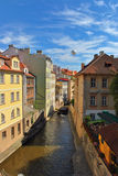 Chertovka River in Prague Royalty Free Stock Photography