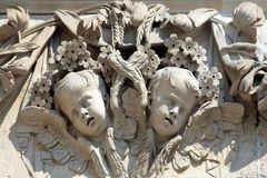 Cherub decoration St Paul�s Cathedral Stock Photography