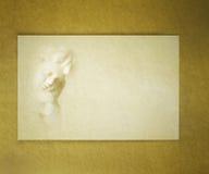 Cherub do cartão de letra fotografia de stock