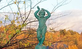 Cherub fountain Royalty Free Stock Photos