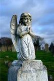 Cherub on grave Stock Image