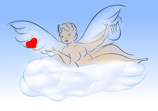 Cherub Stock Photo