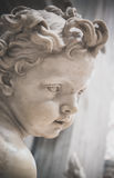 Cherub Holy Water Font St. Peter's Stock Image