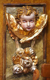 Cherub portrait Stock Photo