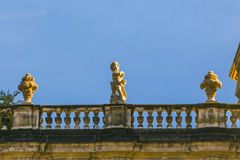 Cherub at the Zwinger in Dresden Royalty Free Stock Photo