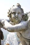 Cherubijnstandbeeld Stock Afbeelding