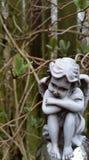 Cherubino del giardino Immagine Stock Libera da Diritti