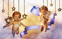 Cherubs Stock Image