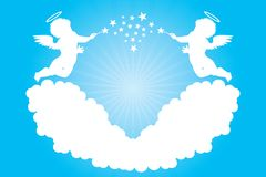 Cherubs Royalty Free Stock Images