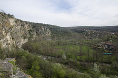 Cherven城堡,保加利亚 图库摄影