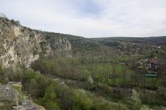 Cherven citadell, Bulgarien Arkivbild