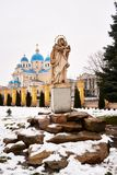 CHERVONOGRAD UKRAINA, Grudzień, - 23,2017: Kościół Fotografia Stock