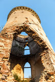 Chervonohorod. The ruins of the ancient polish castle Royalty Free Stock Image