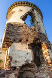 Chervonohorod. The ruins of the ancient polish castle Royalty Free Stock Photos