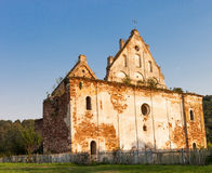 Chervonohorod. The ruins of the ancient polish castle Royalty Free Stock Images
