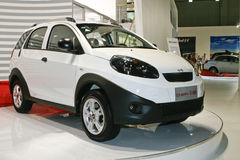 Chery S18D. At the Moscow International Automobile Salon (MIAS-2010) August 25 - September 5 Royalty Free Stock Photo
