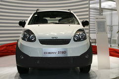 Chery S18D. At the Moscow International Automobile Salon (MIAS-2010) August 25 - September 5 Stock Image