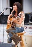 Cheryl Casselman - cantor/compositor canadenses Imagens de Stock Royalty Free