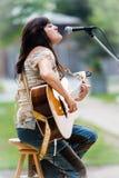 Cheryl Casselman - cantor/compositor canadenses Fotografia de Stock Royalty Free